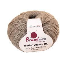 Broadway Yarns Merino Alpaca DK